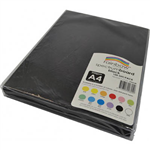 RAINBOW SPECTRUM BOARD 200GSM A4 BLACK PACK 100