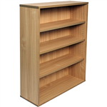 RAPID SPAN BOOKCASE 3 SHELF 900 X 315 X 1200MM BEECH