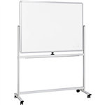 INITIATIVE MOBILE MAGNETIC WHITEBOARD 1200 X 900MM