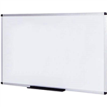 INITIATIVE MAGNETIC WHITEBOARD ALUMINIUM FRAME 900 X 600MM