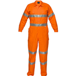 PRIME MOVER MA922 LIGHTWEIGHT COVERALL WITH METAL STUD CLOSURE AND TAPE