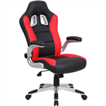 XR8 FORMULA 1 OFFICE CHAIR WITH ARMS RED